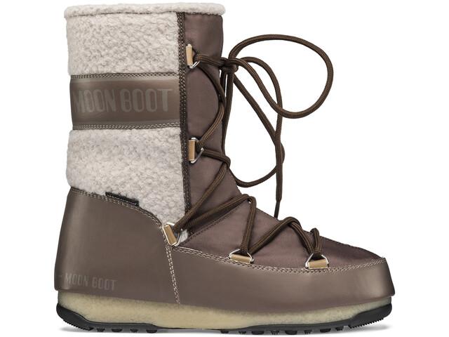 Moon Boot Monaco Wool Wp Keskivartiset talvikengät Naiset, mud